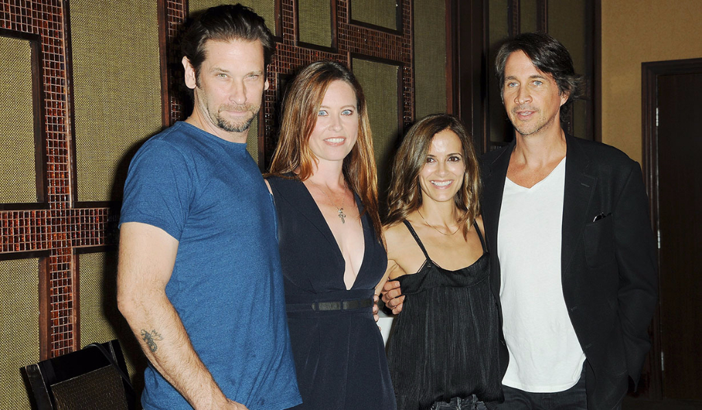 Roger, Melissa, Rebecca and Michael at the GH fan event in 2017