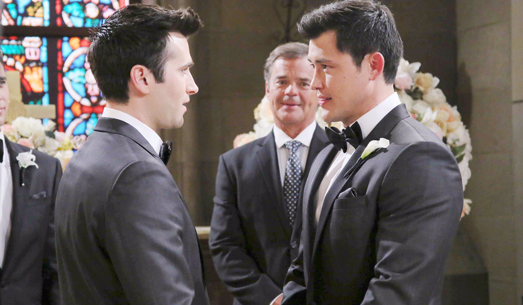 Paul Narita in love with Sonny Kiriakis Days of our Lives