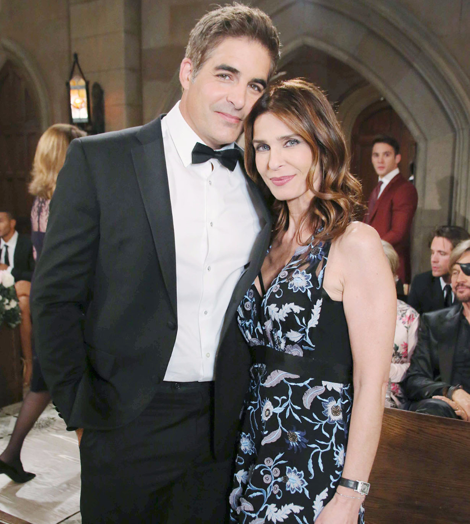 Rafe and Hope at the double wedding