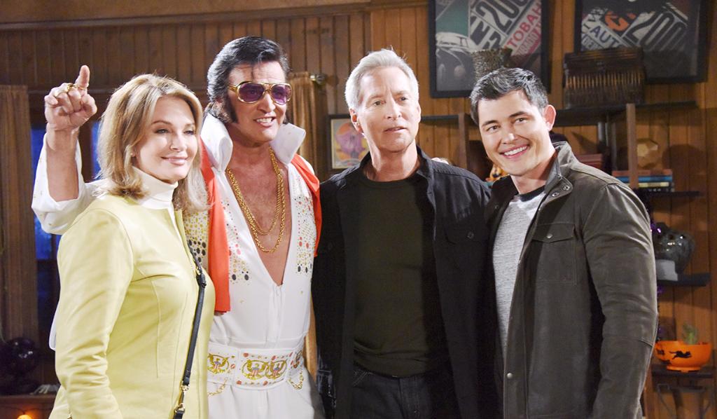 Halloween in Salem with Elvis