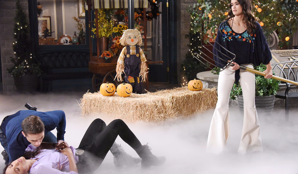 Halloween in Salem and Paige murders Lani