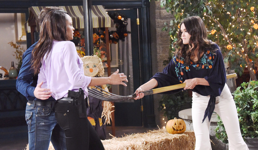 Halloween in Salem and Paige is alive