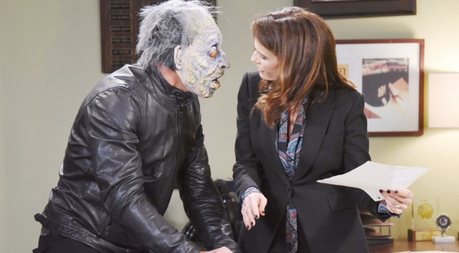 Halloween in Salem and Rafe tries to scare Hope