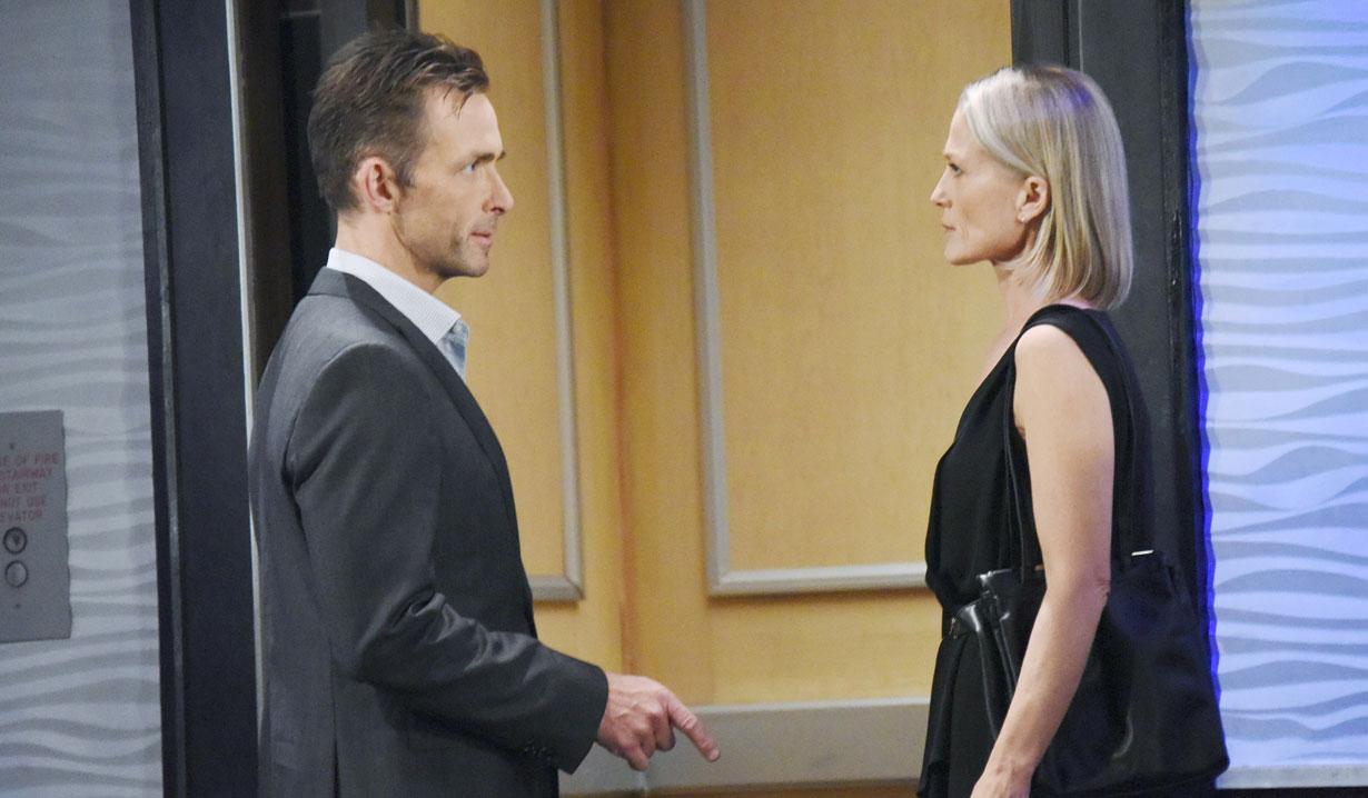 Valentin and Cassandra argue GH