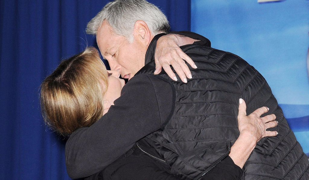 Jarlena kissing Day of Days 2017