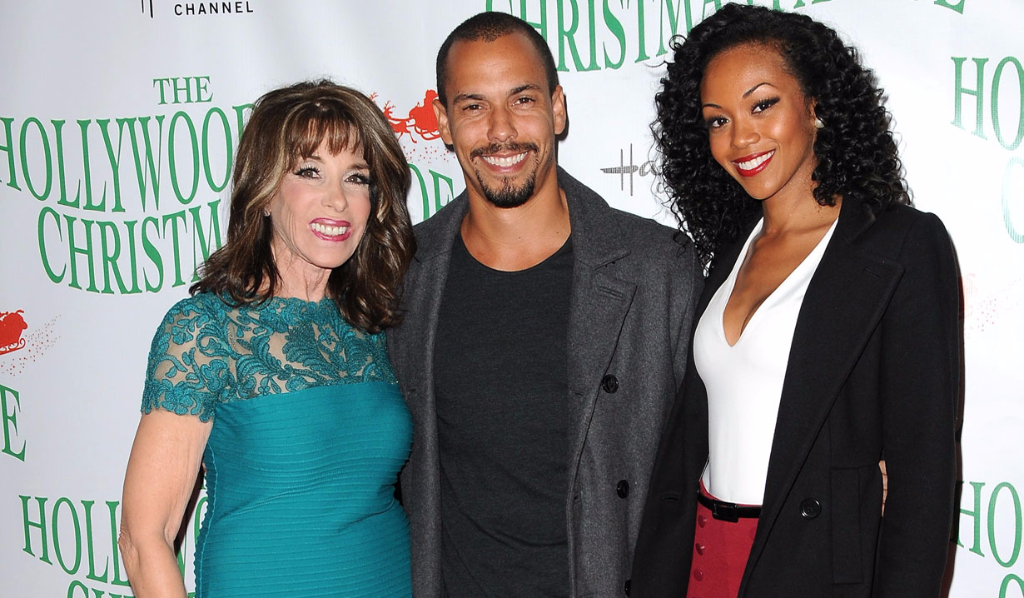 Y&R's Kate Linder, Bryton James and Mishael Morgan