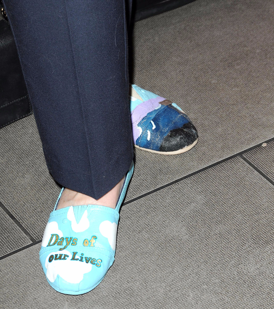 Day of Days 2017 Sheri Anderson's shoes which are a tribute to Days