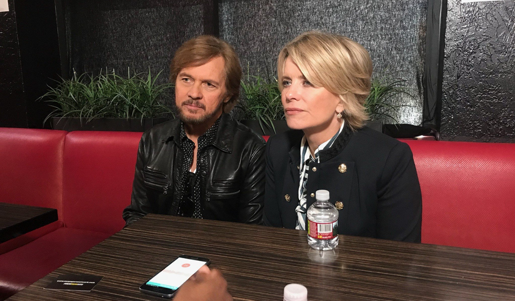 Stephen and Mary Beth interviewed by Soaps.com's, Kristyn Burtt at Day of Days 2017