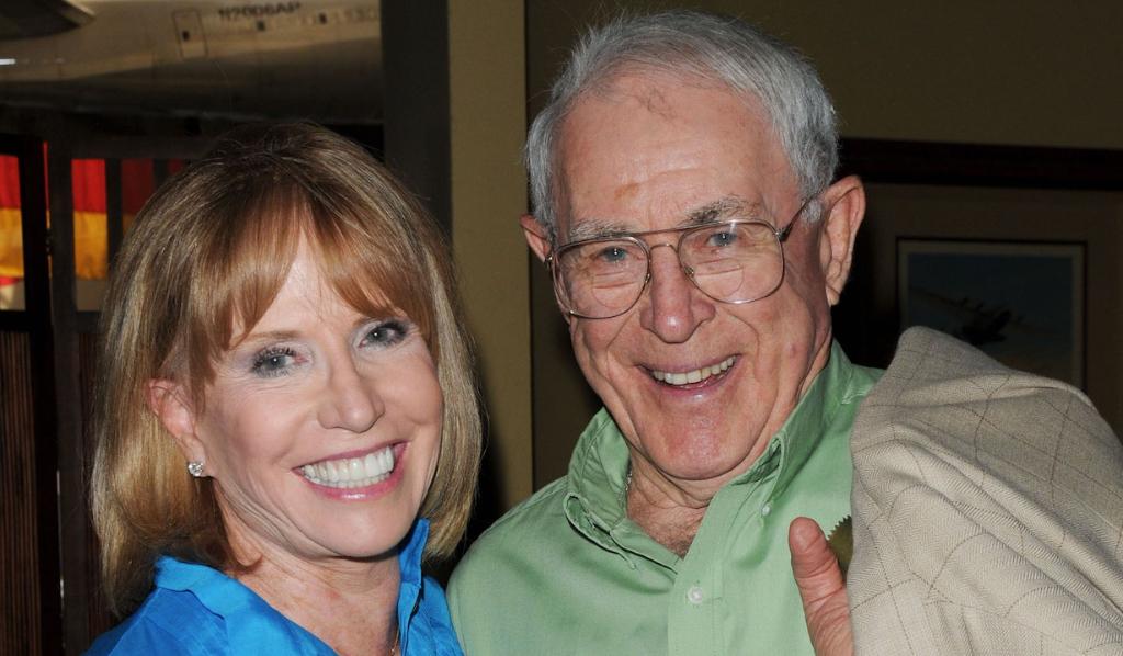Peter Hansen with Leslie Charleson (Jill Johnson/JPI)