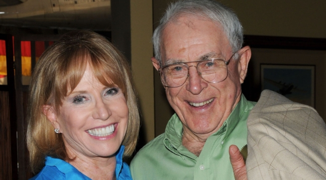 Peter Hansen with Leslie Charleson (Jill Johnson/JPI)