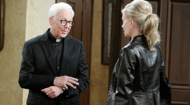 "William Christopher as Father Tobias ""Days"" (Paul Skipper/JPI)"