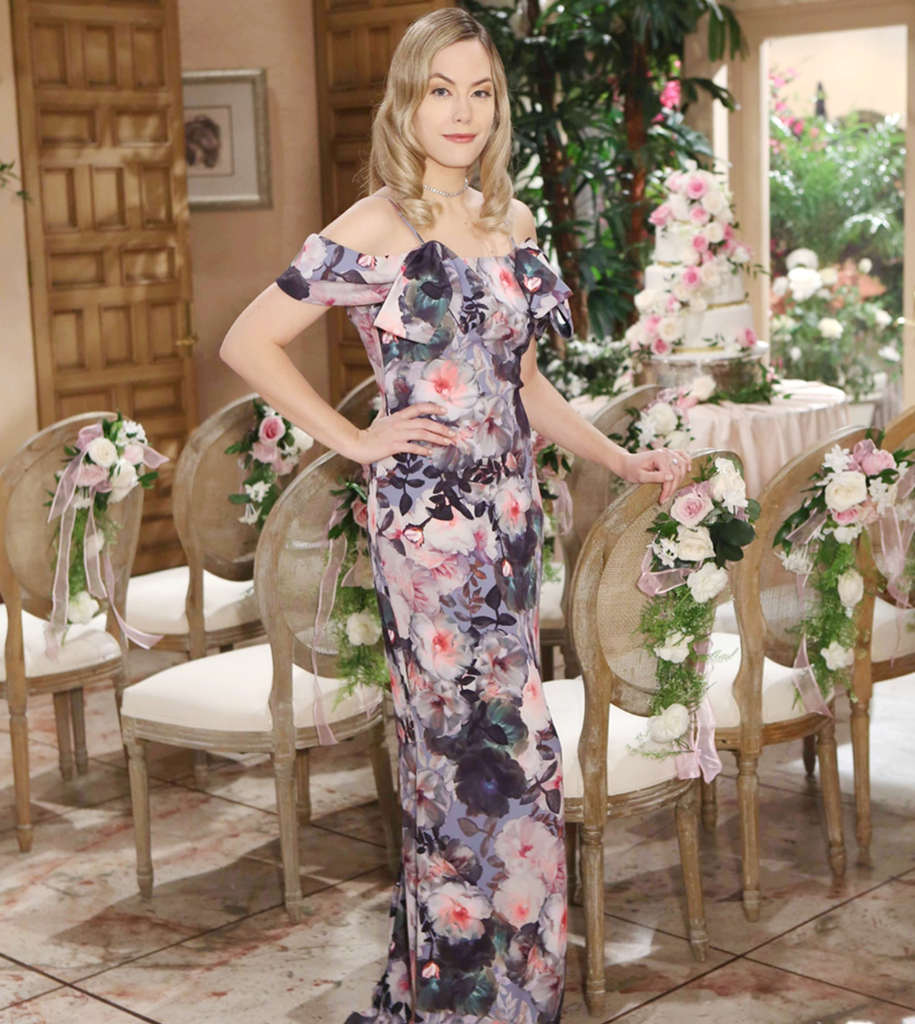 Hope dress 2018 Brooke and Ridge wedding bold and beautiful