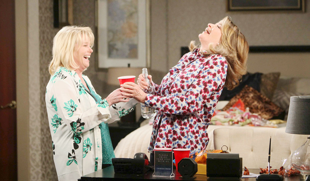 Bonnie and Hattie good times on Days of our Lives