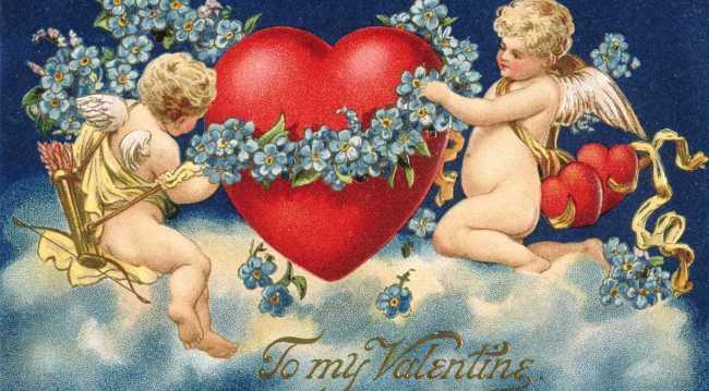 Valentine's Day cherubs