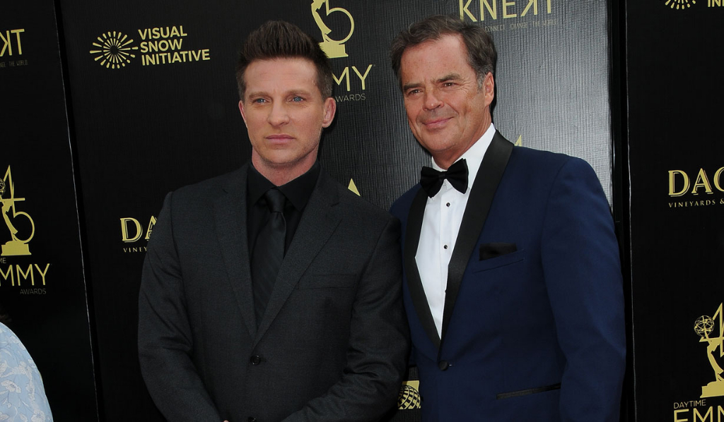 GH's Steve Burton and Wally Kurth