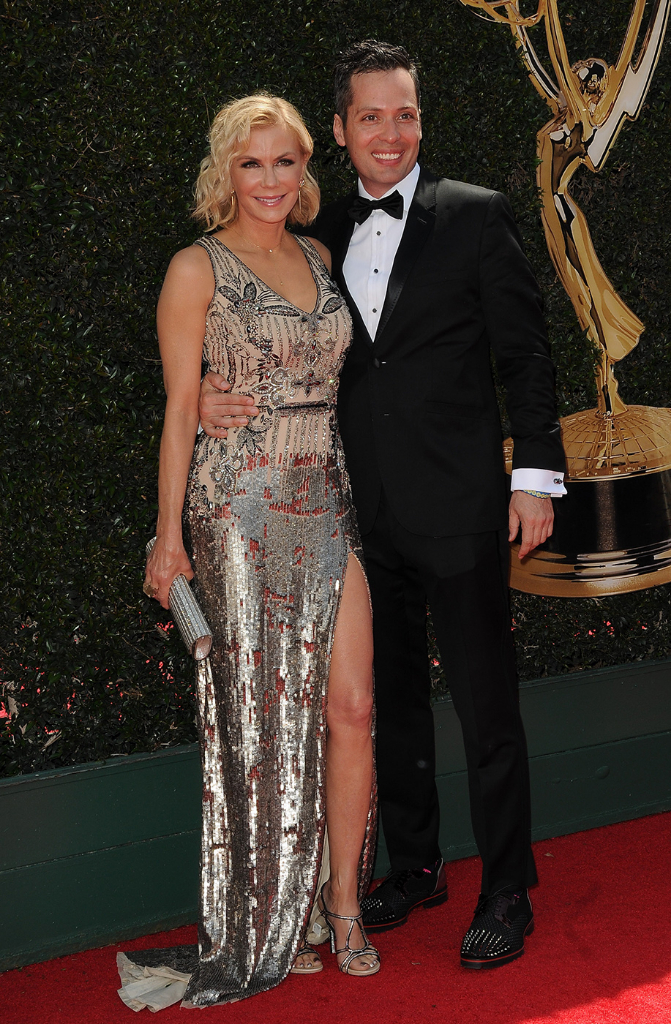 B&B's Katherine Kelly Lang and boyfriend Dominique Zoida