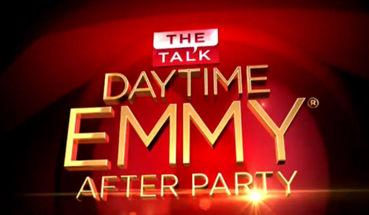 daytime emmy winners on the talk after party show