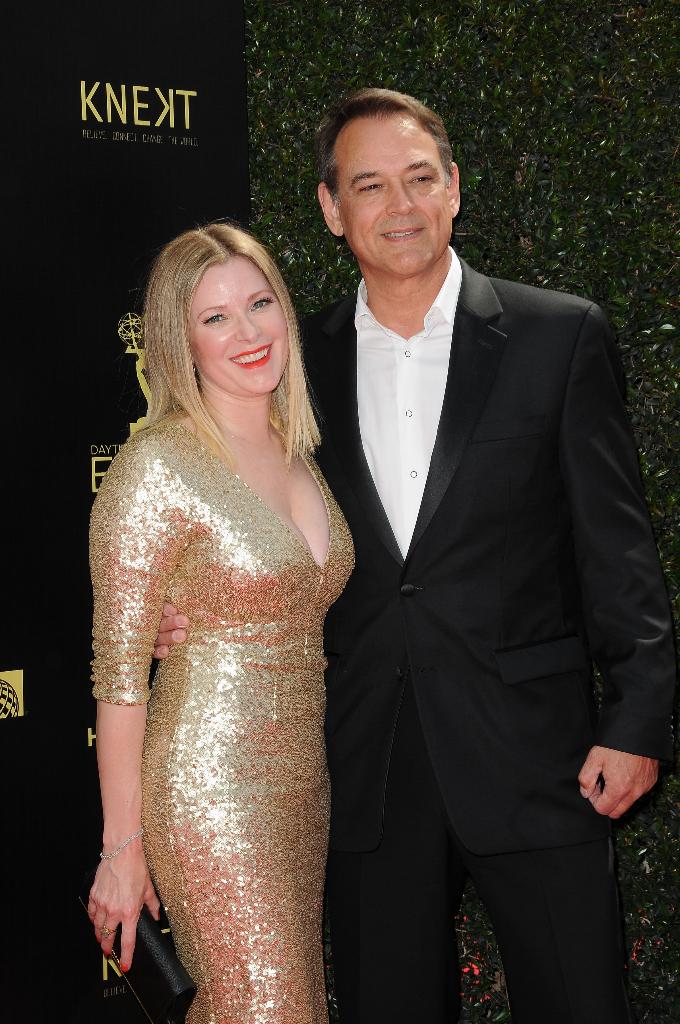 GH's Jon Lindstrom and wife Cady McClain