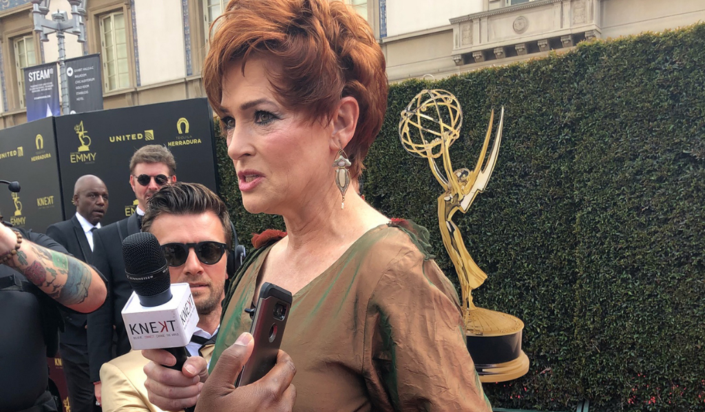 Red Carpet host GH's Carolyn Hennesy