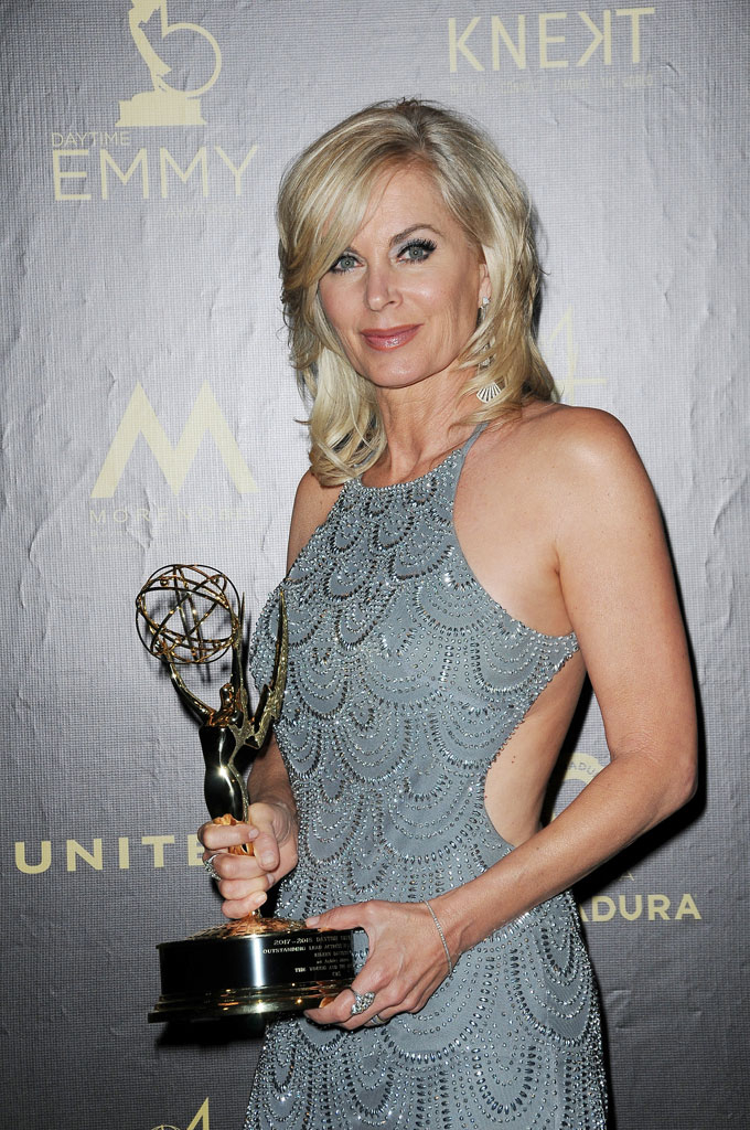 Y&R's Eileen Davidson wins Leading Actress