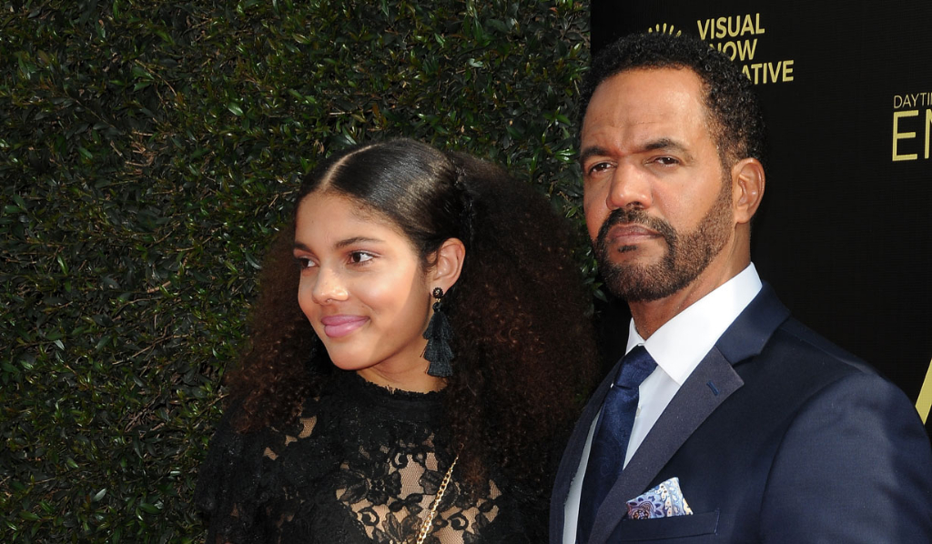 Y&R's Kristoff St. John and daughter