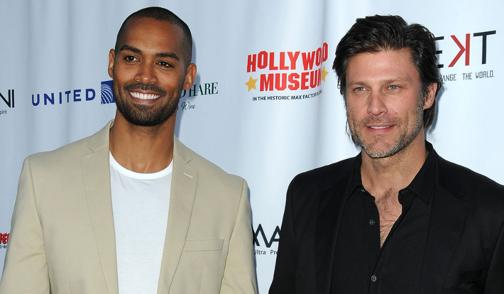 Days' Lamon Archey and Greg Vaughan