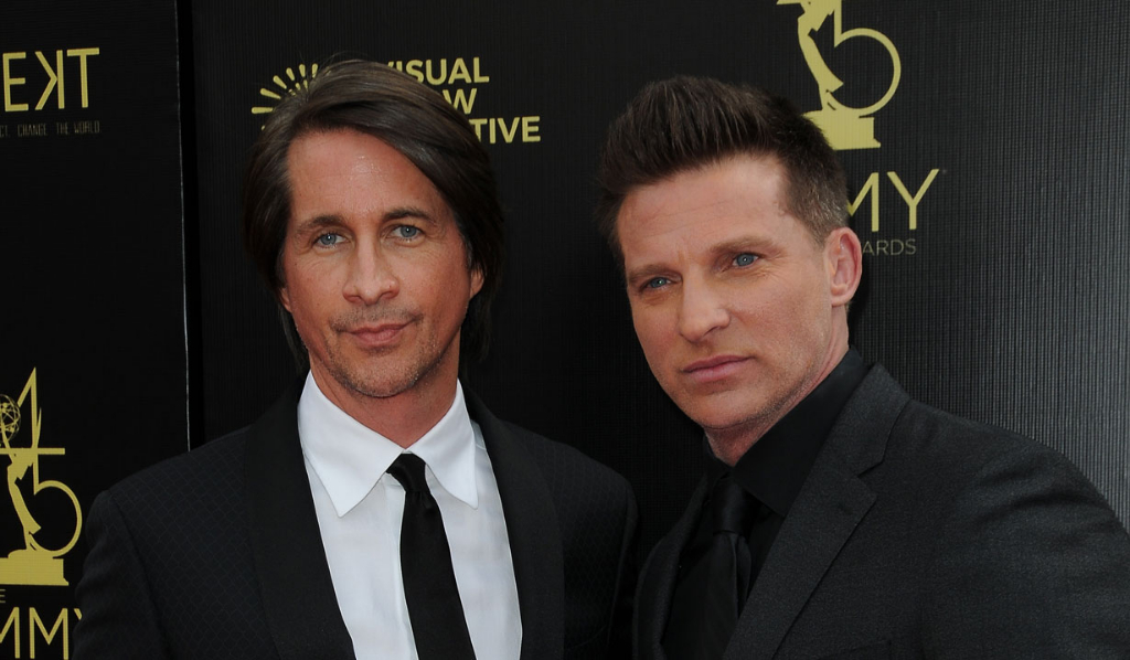 GH's Michael Easton and Steve Burton