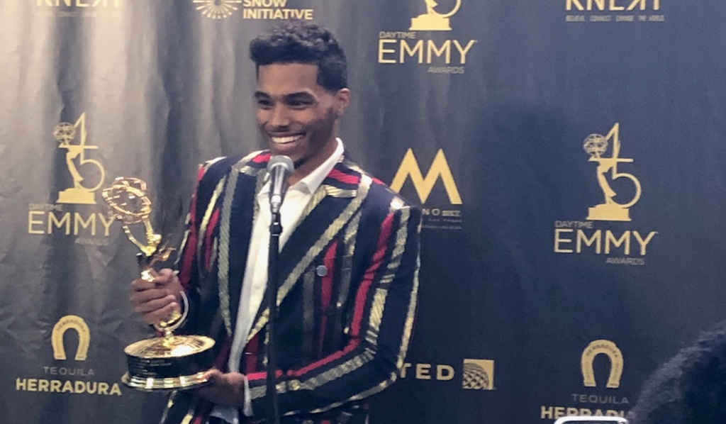 B&B's Rome Flynn wins Younger Actor