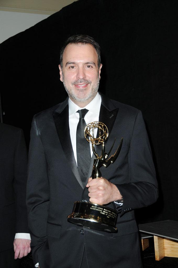 Days' head writer Ron Carlivati wins Writing Team