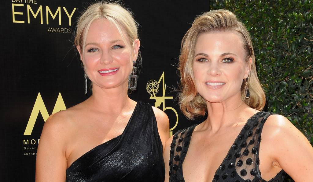 Y&R's Sharon Case and Gina Tognoni
