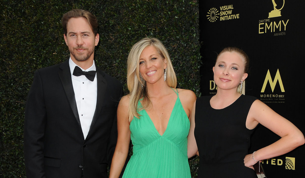 GH's Wes Ramsey, Laura Wright and her daughter