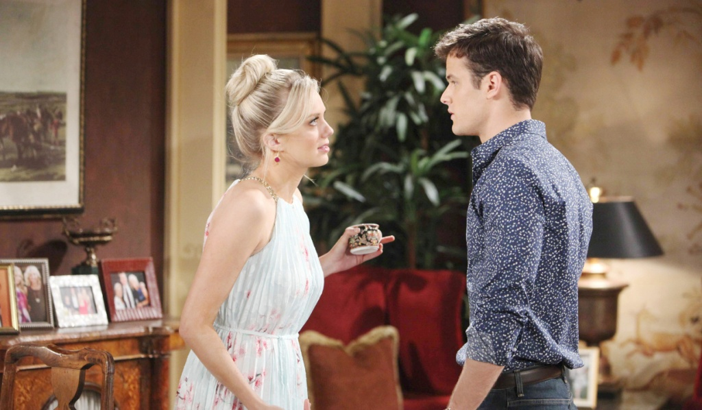 Kyle and Abby argue on Y&R
