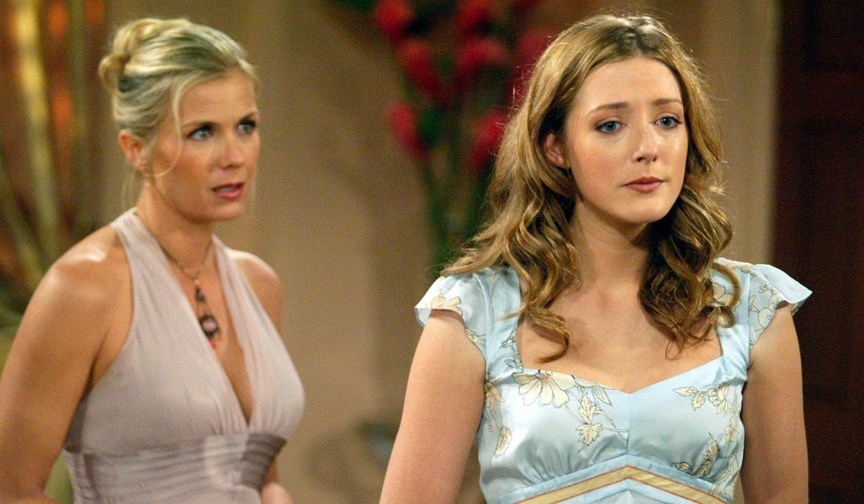 Jennifer Finnigan as Bridget with Katherine Kelly Lang as Brooke