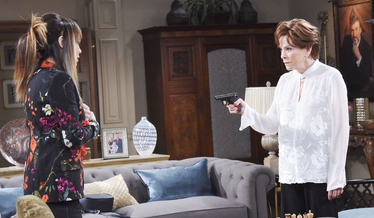 Vivian tries to shoot Kate on Days
