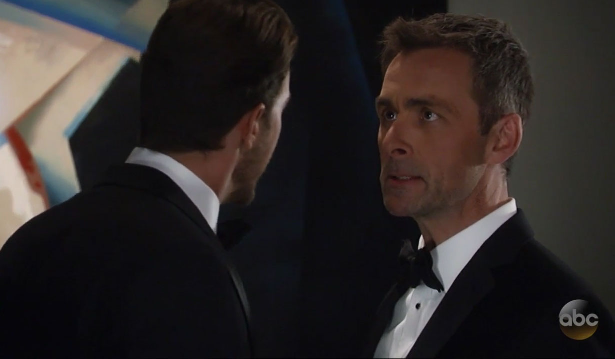 Valentin is furious at Peter