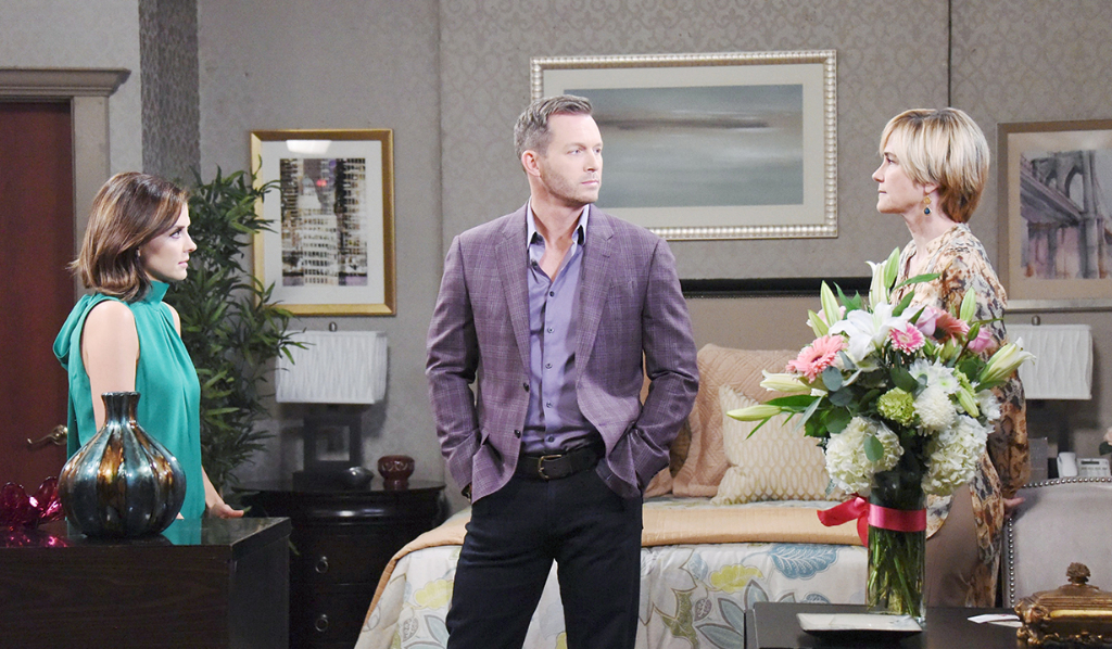 Brady choses between Eve and Theresa