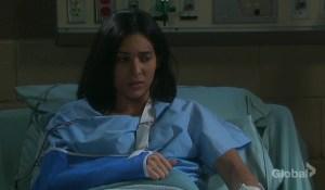 gabi at the infirmary