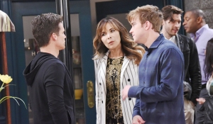 leo talks to will and kate about suing sonny