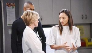 kayla, lani and eli discuss lani's pregnancy