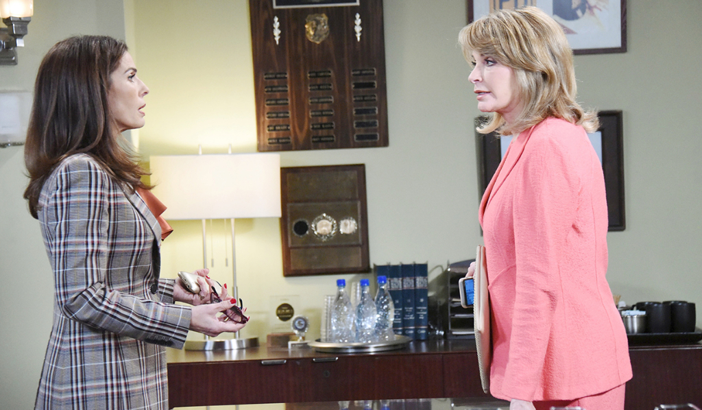 Marlena tells Hope Ben is out of prison
