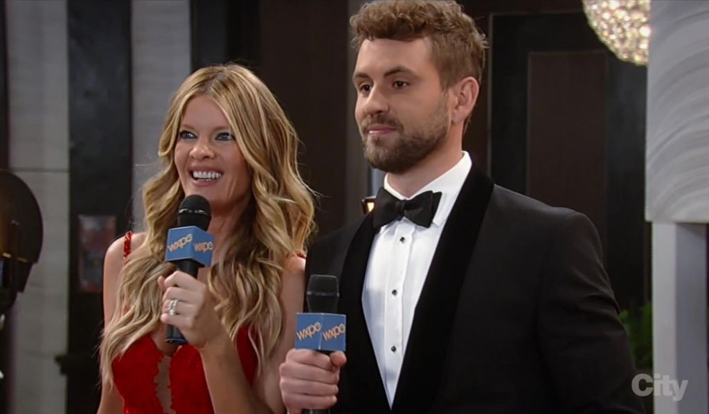 Nurses Ball 2018 Nina and Nick Viall from The Bachelor