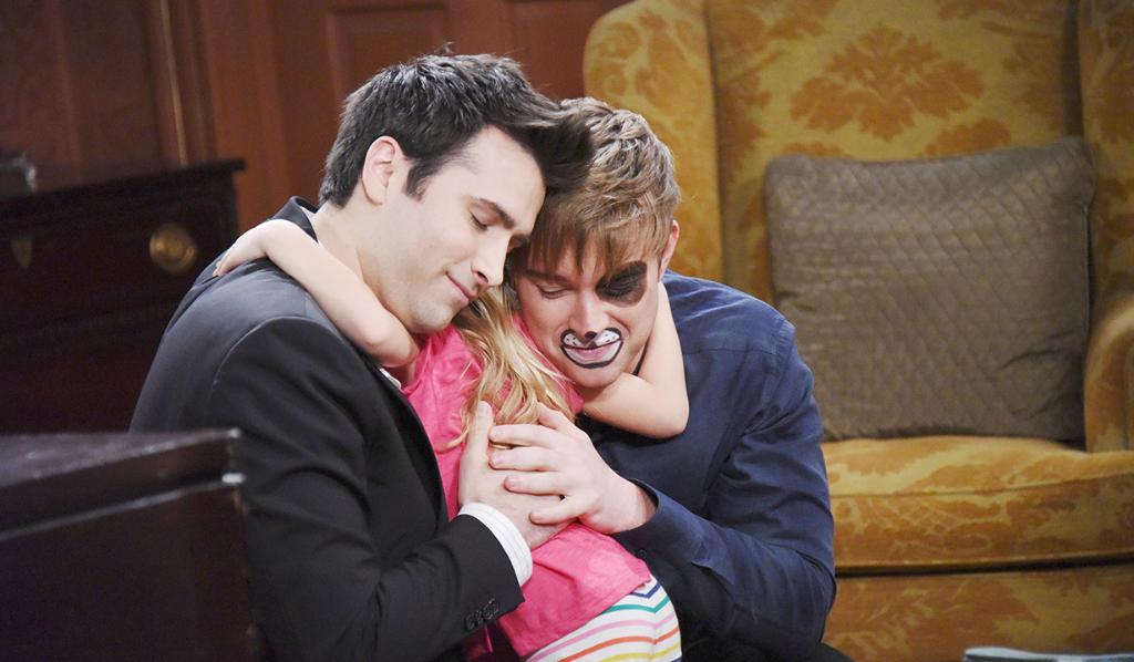 WilSon and Ari hug as a family