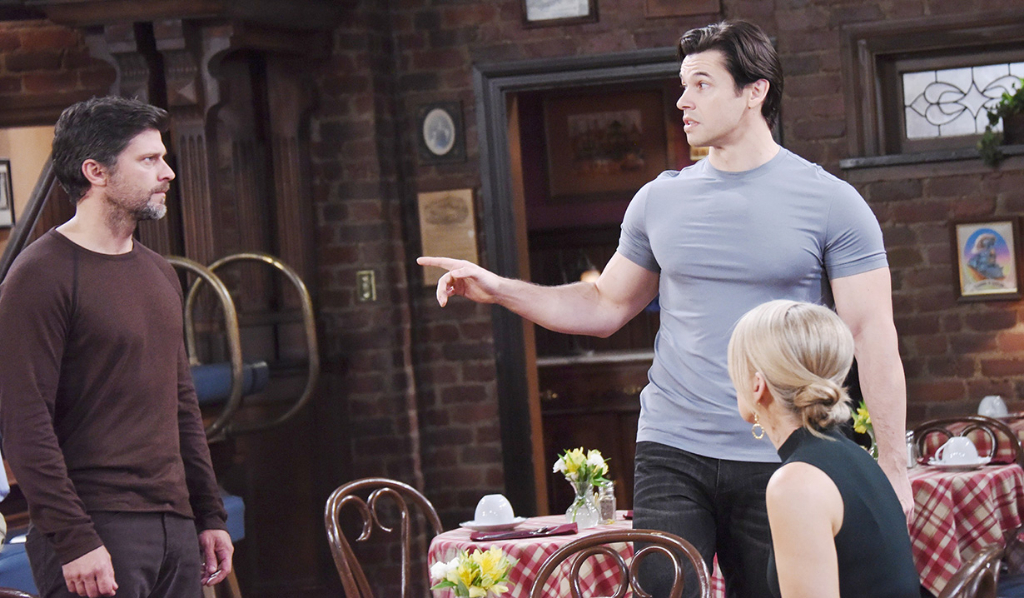 Xander taunts Eric and Jenn