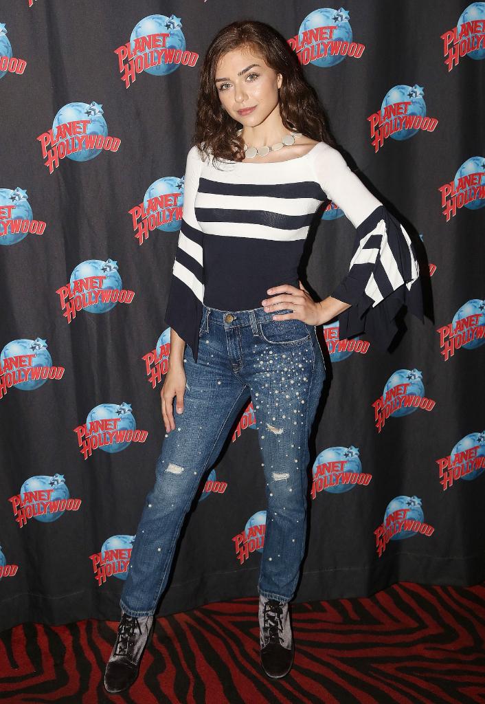 Victoria Konefal visits Planet Hollywood