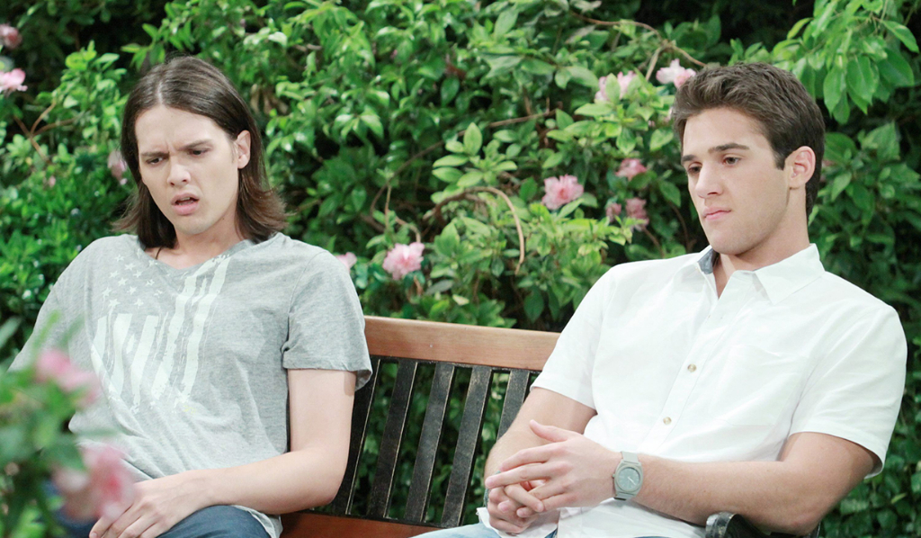Rory and JJ wonder why they didn't get high after eating donuts