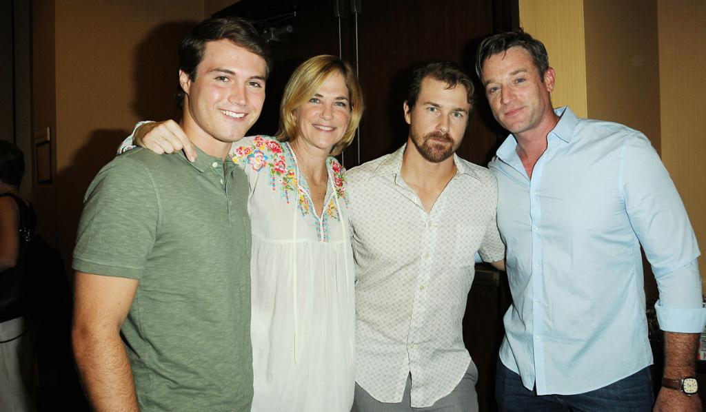 OLTL's Andrew Trischitta (Jack), Kassie DePaiva (Blair), Josh Kelly (Cutter) Tom Degnan (Joey)