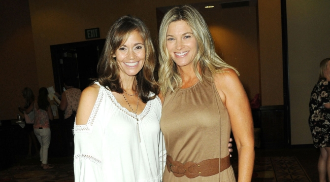 OLTL's Christina Chambers (Marty), Tracey Melchoir (Kelly)
