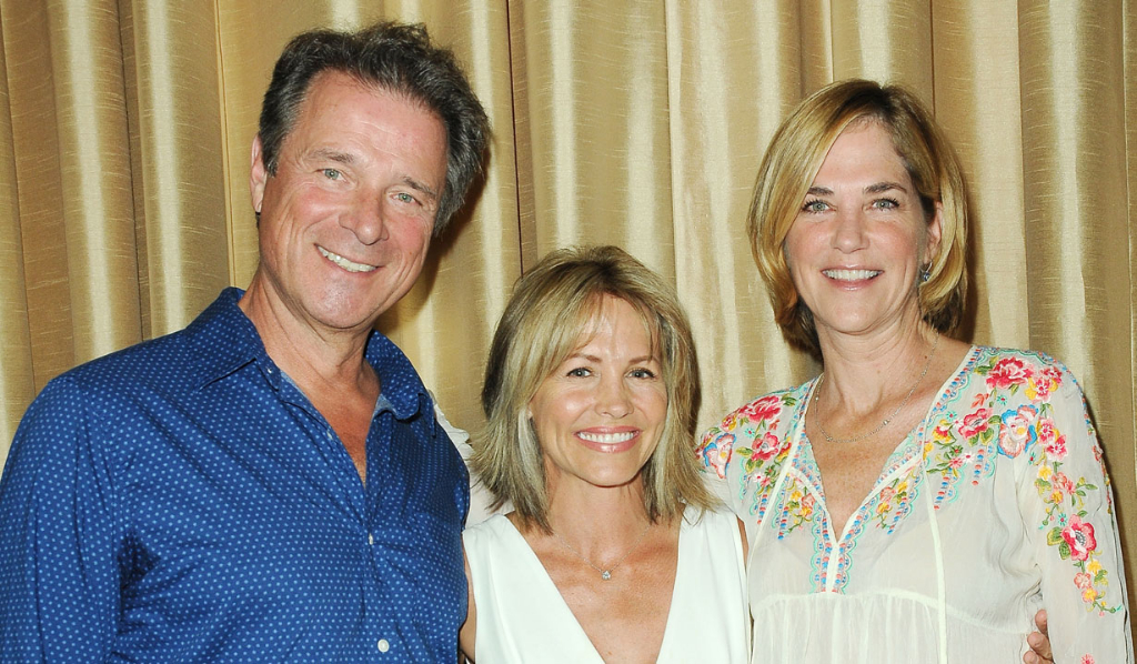 OLTL's James (Max) and Kassie (Blair) DePaiva, Krista Tesreau (Tina)