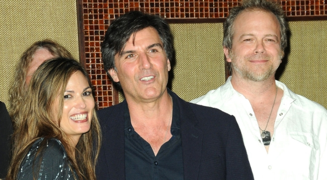 AMC's Terri Ivens (Simone), Vincent Irizarry (David), Brian Gaskill (Bobby)
