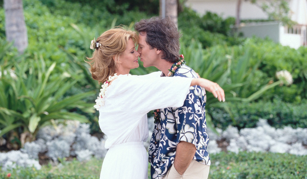 Jarlena in Hawaii in 1999